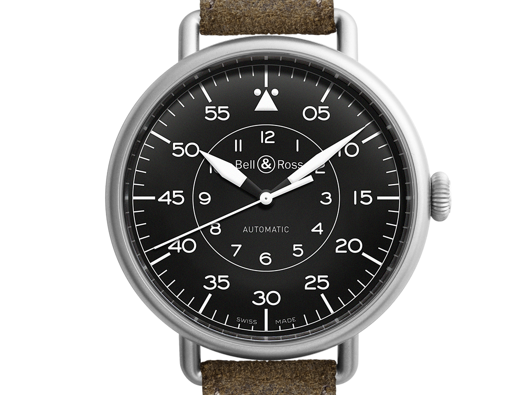 Bell & Ross Vintage WW1 Military Replica Black Dial Watches--