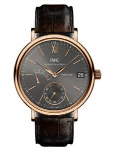 Replica IWC Portofino Automatic Black Dial Rose Gold Watch