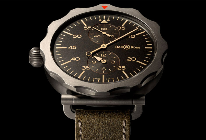 Best replica bell & ross vintage ww2 regulateur heritage watch