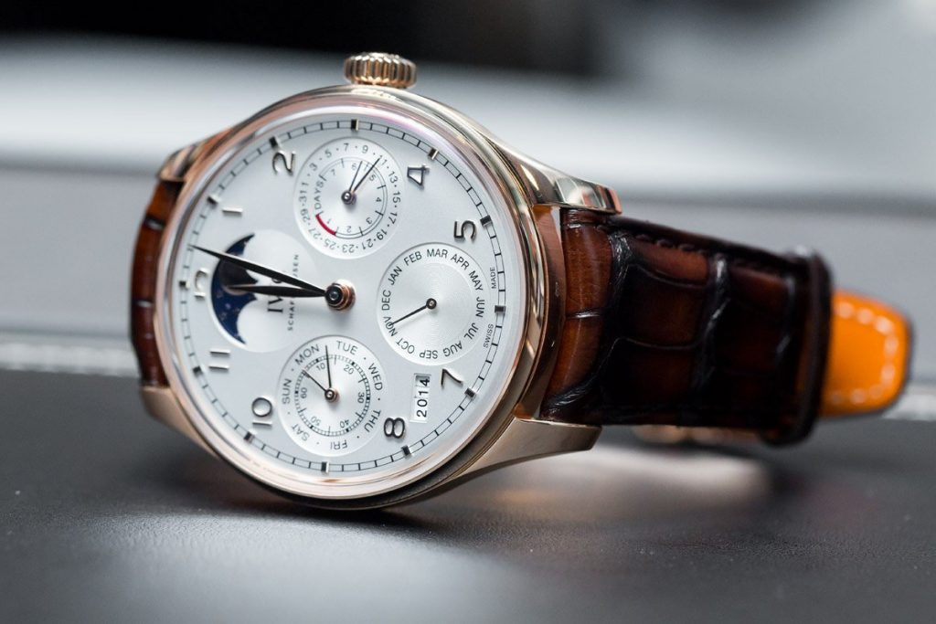 ea91fcdedab IWC Portugieser Perpetual Calendar Replica Watch For You To Choose ...