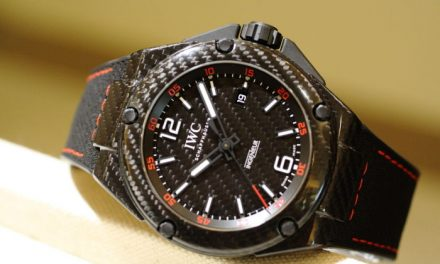Carbon fibers iwc ingenieur automatic carbon performance replica watch