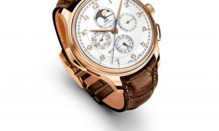 Red gold iwc portuguese grande complication white dial replica watch