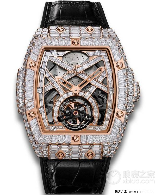 Hublot MP-06 Rectangular Diamond Fine Jewelry Tourbillon ref.906.OX.9000.LR.9904