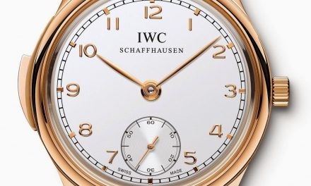 Pink gold iwc portugaise répétition minutes replica watch