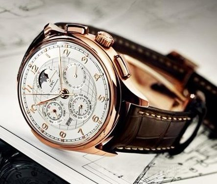 Red Gold IWC Portuguese Grande Complication Replica Watch