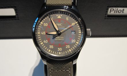 Army Green IWC Pilot's Watch Mark XVIII Top Gun Miramar Replica Watch