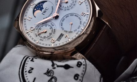 Rose gold iwc portuguese perpetual calendar replica watch