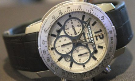 White Dial Raymond Weil Nabucco Chronograph Replica Watch