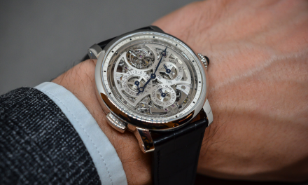 Brass sunray-brushed dial cartier grande complication skeleton replica watch