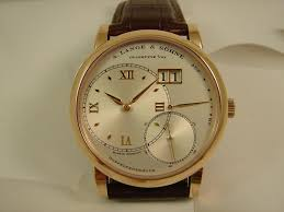 Pink Gold A. Lange & Söhne Grande Lange 1 Replica Watch