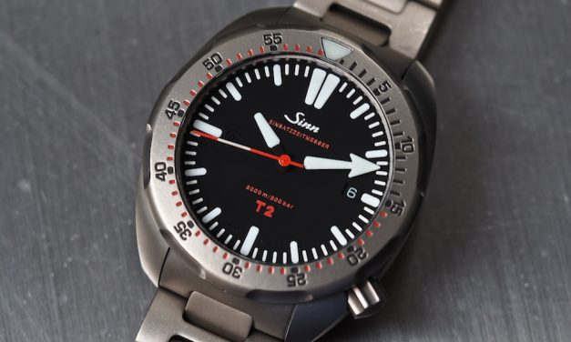 Steel case sinn t2 driver replica watch