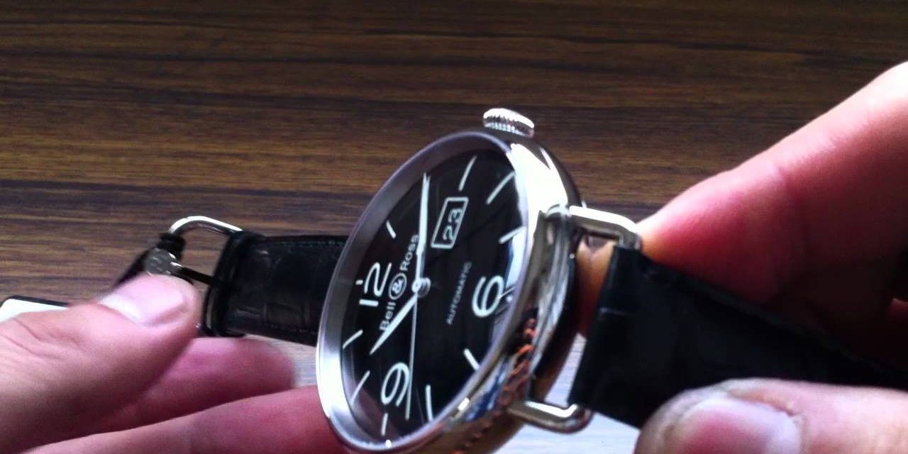 45mm Stainless Steel Bell & Ross BR WW1-96 Replica Watch
