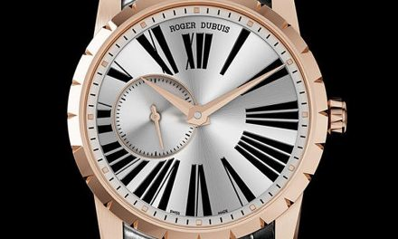 Pink Gold Roger Dubuis Excalibur 42 Automatic Replica Watch