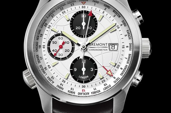 White Dial Bremont World Timer ALT1-WT Replica Watch