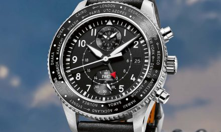 Best IWC Pilot's Watch Timezoner Chronograph Replica Watch ref. IW395001