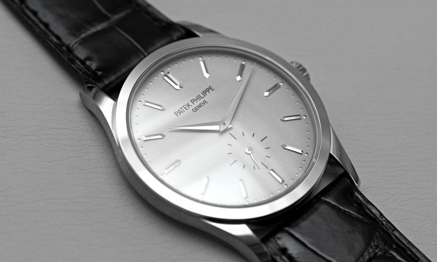 White Dial Patek Philippe Calatrava Replica Watch 5196G-001
