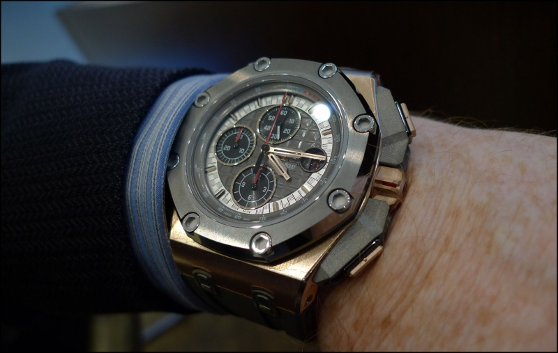 Audemars Piguet Royal Oak Offshore Michael Schumacher Replica Watch 26568OM.OO.A004CA.01