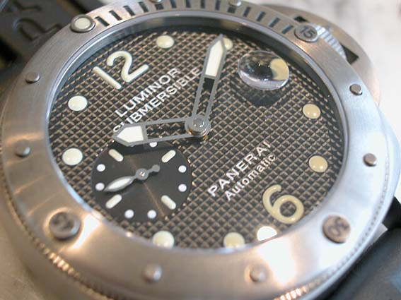 Best Panerai Luminor Submersible Replica Watch PAM 00025