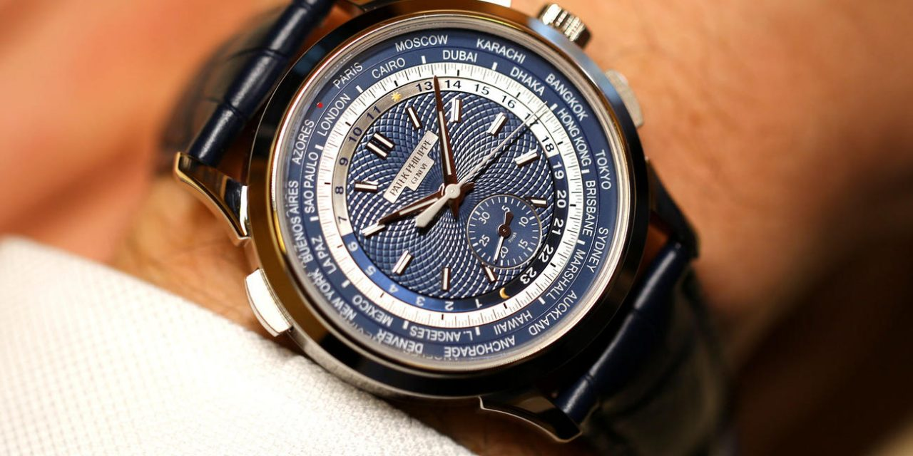 New Style Patek Philippe World Time Chronograph Replica Watch