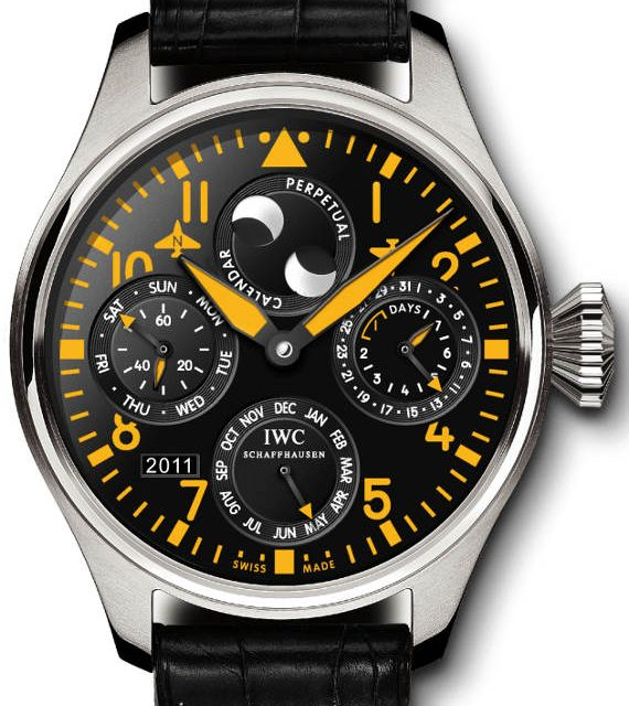 Wholesale Famous IWC Big Pilot Limited Edition Perpetual Calendar Watch Japanese Movement Replica Watches