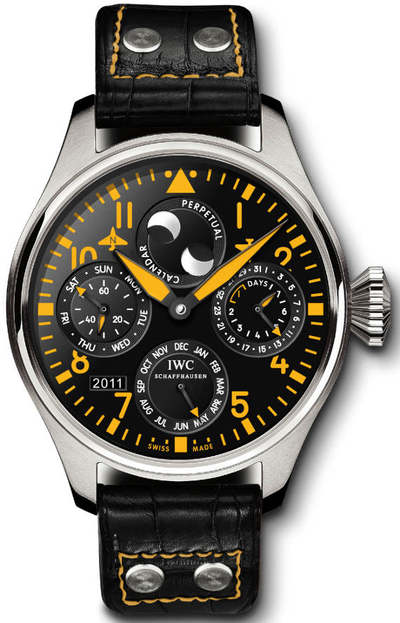 IWC Big Pilot Limited Edition Perpetual Calendar Watch Watch Releases