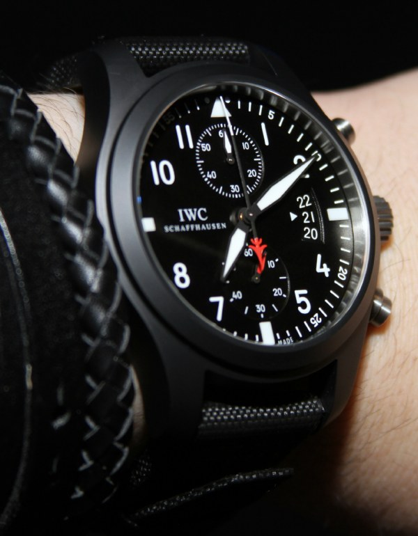 IWC Big Pilot Top Gun Watches For 2012 Hands-On Hands-On