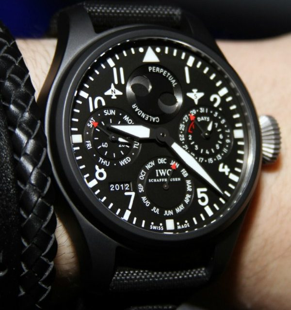Best Quality IWC Big Pilot Top Gun Watches For 2012 Hands-On Guide Replica Watches Trusted Dealers