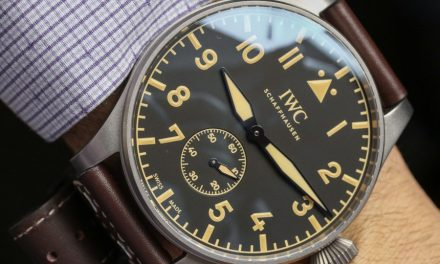 Best Place To Buy IWC Big Pilot's Heritage Watch 55 Hands-On Wholesale Replica Watches Dealer