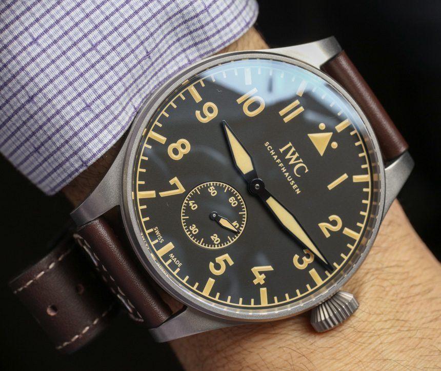 IWC Big Pilot's Heritage Watch 55 Hands-On Hands-On