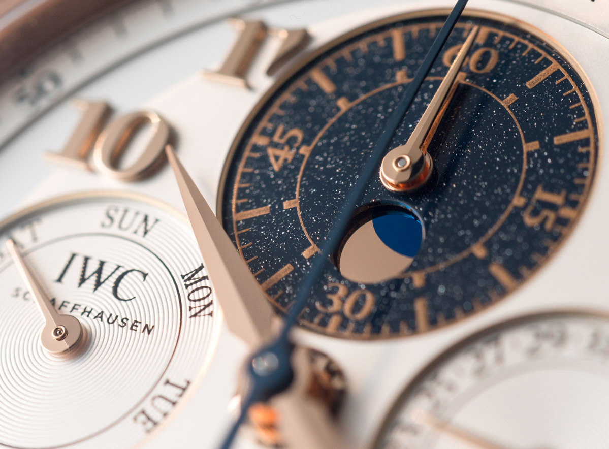 IWC Da Vinci Perpetual Calendar Chronograph Watch Hands-On Hands-On