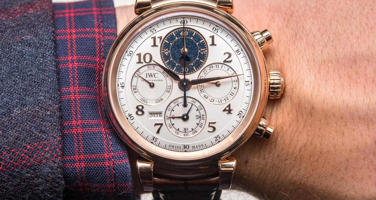 Can I Buy IWC Da Vinci Perpetual Calendar Chronograph Watch Hands-On Grade 1 Replica Watches