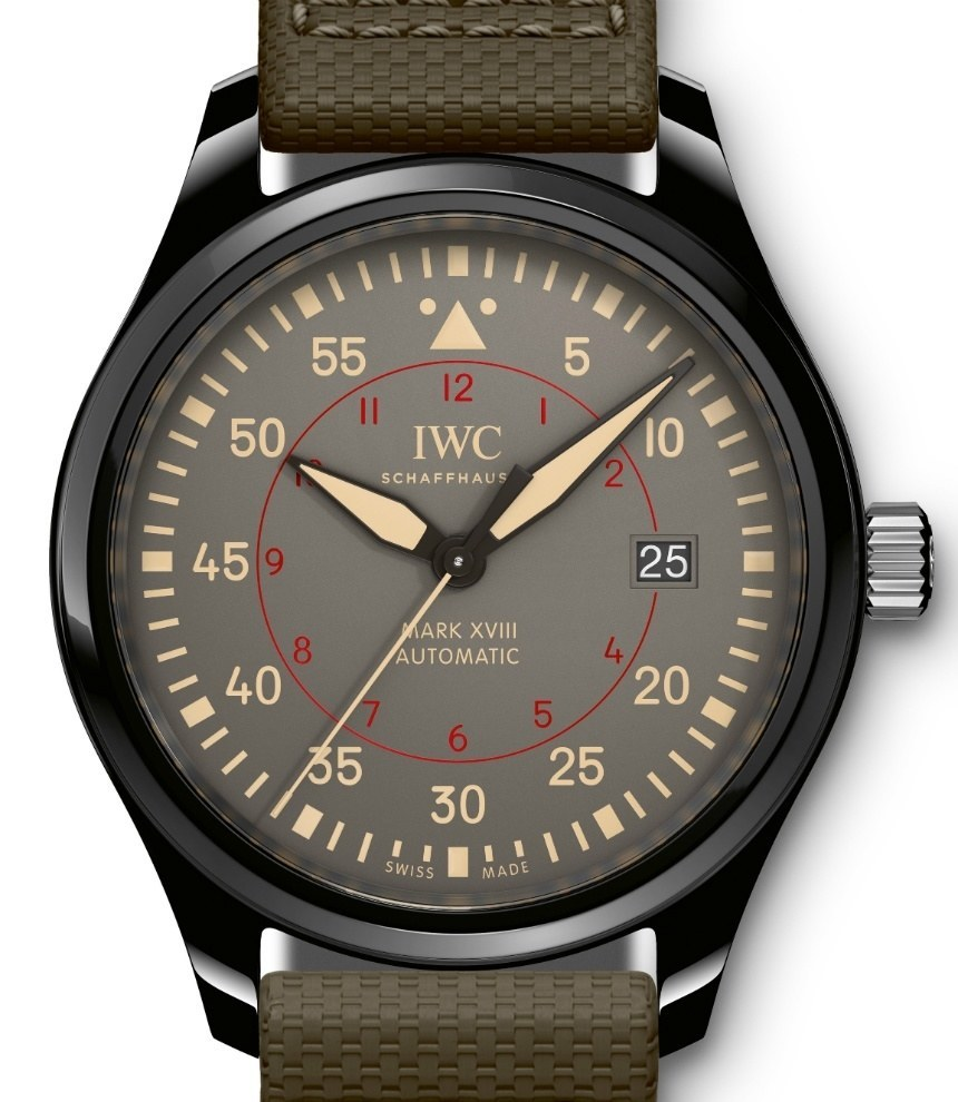 IWC Pilot's Watch Mark XVIII Top Gun Miramar & Chronograph Top Gun Miramar Watch Releases