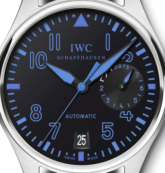 IWC Big Pilot Watch In Blue For North American Boutique Shops Watch Releases