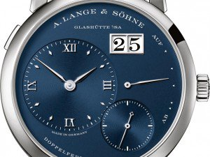 A. Lange & Söhne Has The Blues