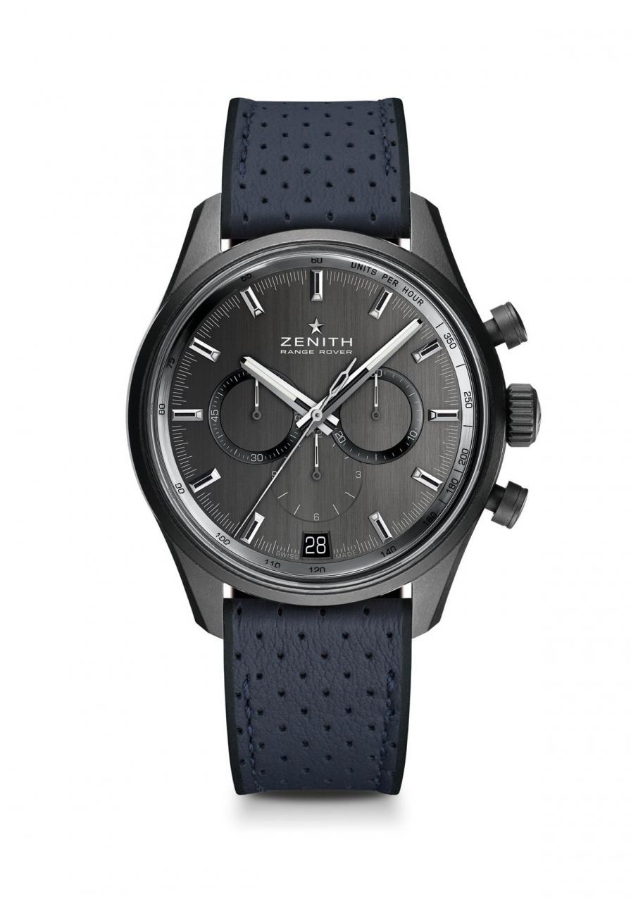 The watch houses an  El Primero high-frequency caliber.