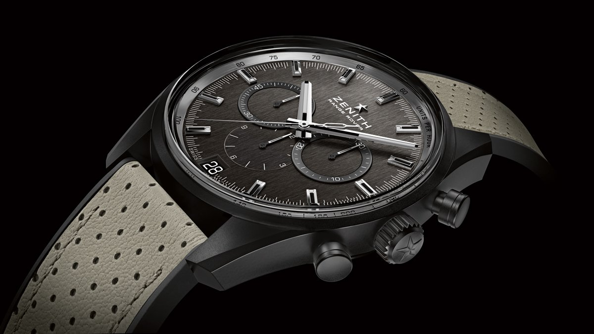 The new Zenith Range Rover watch is the result of a partnership between Zenith and Land Rover.