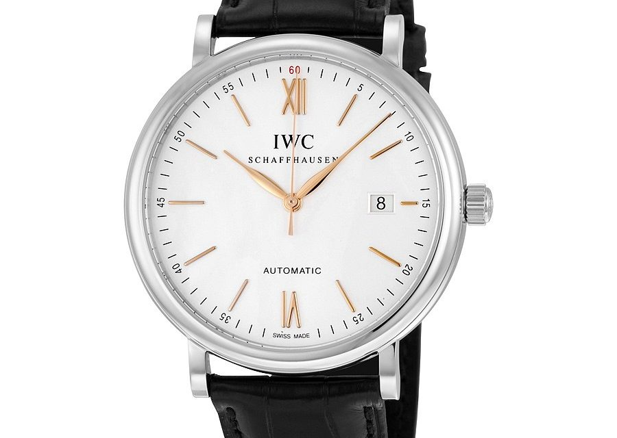 IWC Portofino Automatic Silver-plated Dial Men's Watch Item No. IW356517  Replica At Best Price