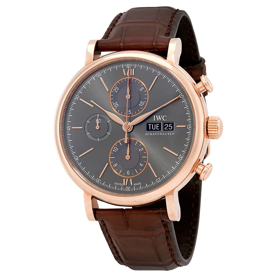 IWC Portofino Chronograph Ardoise Dial Men's Watch IW391021