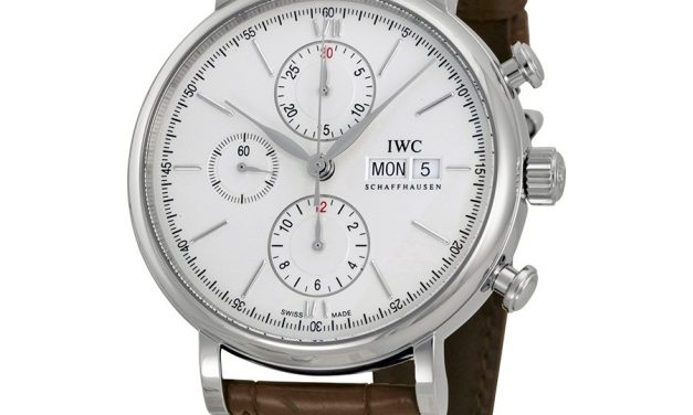 IWC Portofino Automatic Chronograph Silver Dial Men's Watch Item No. IW391007  Replica Guide Trusted Dealers
