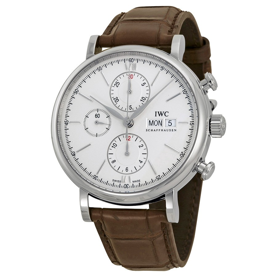 IWC Portofino Automatic Chronograph Silver Dial Men's Watch IW391007