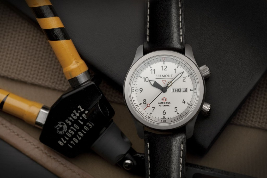 Bremont MBII White – In Association with Martin-Baker 3