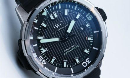 Replica Wholesale Center IWC Aquatimer Automatic 2000 Watch Hands-On