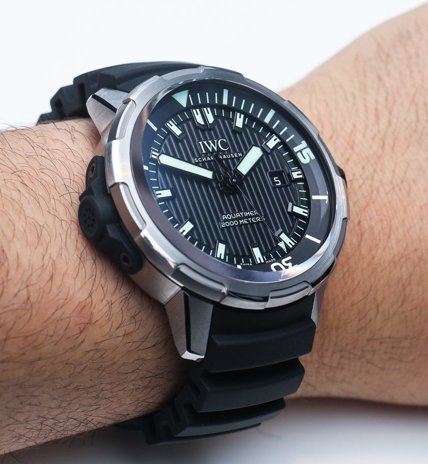 IWC Aquatimer Automatic 2000 Watch Hands-On Hands-On