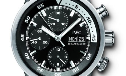 Replica Watches Young Professional Bill Paxton Wears IWC Aquatimer Chrono-Automatic Watch In Big Love Season 3