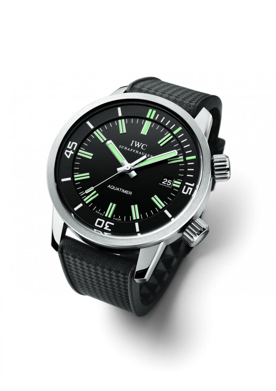 IWC Vintage Aquatimer Watch Looks Classic Good, Reminds You Of When Diving Was Not As Safe Watch Releases