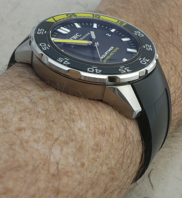 IWC Aquatimer Watch Review Wrist Time Reviews