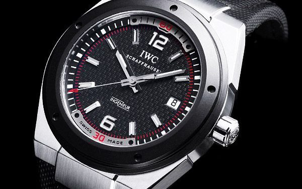 Black Dial IWC Ingenieur Automatic Ceramic Bezel Replica Watch ref.IW323401