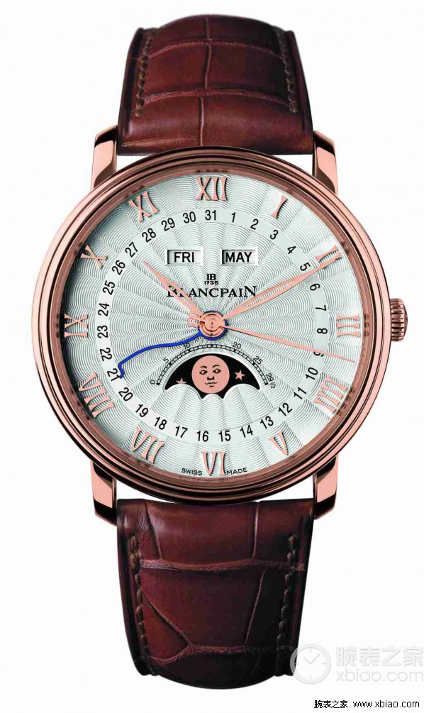 top quality replica blancpain villeret perpetual calendar for sale