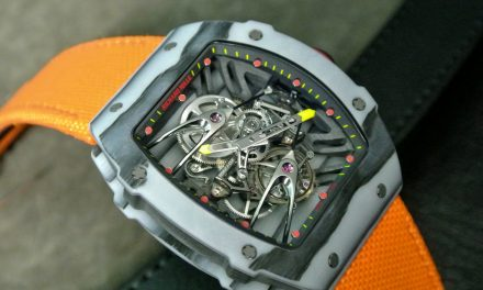 Composit of Carbon Richard Mille RM 027 Tourbillon Rafael Nadal Replica Watch