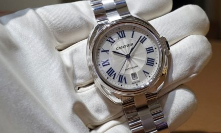 Beautiful Cartier Clé de Cartier Replica Watch